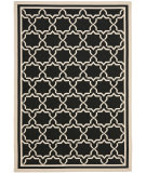 RugStudio presents Safavieh Courtyard Cy6916-226 Black / Beige Machine Woven, Good Quality Area Rug