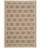 RugStudio presents Safavieh Courtyard Cy6916-242 Brown / Bone Machine Woven, Good Quality Area Rug