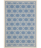 RugStudio presents Safavieh Courtyard Cy6916-243 Blue / Beige Machine Woven, Good Quality Area Rug