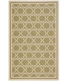 RugStudio presents Safavieh Courtyard Cy6916-244 Green / Beige Machine Woven, Good Quality Area Rug