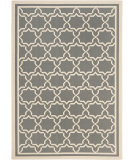 RugStudio presents Safavieh Courtyard Cy6916-246 Anthracite / Beige Machine Woven, Good Quality Area Rug