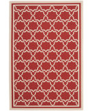 RugStudio presents Safavieh Courtyard Cy6916-248 Red / Bone Machine Woven, Good Quality Area Rug