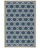 RugStudio presents Safavieh Courtyard Cy6916-268 Navy / Beige Machine Woven, Good Quality Area Rug
