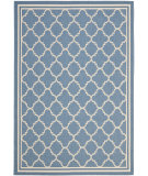 RugStudio presents Safavieh Courtyard Cy6918-243 Blue / Beige Machine Woven, Good Quality Area Rug