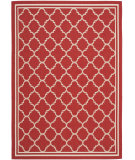RugStudio presents Safavieh Courtyard Cy6918-248 Red / Bone Machine Woven, Good Quality Area Rug