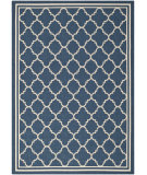 RugStudio presents Safavieh Courtyard Cy6918-268 Navy / Beige Machine Woven, Good Quality Area Rug