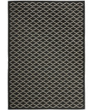 RugStudio presents Safavieh Courtyard Cy6919-226 Black / Beige Machine Woven, Good Quality Area Rug
