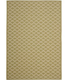 RugStudio presents Safavieh Courtyard Cy6919-244 Green / Beige Machine Woven, Good Quality Area Rug