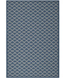 RugStudio presents Safavieh Courtyard Cy6919-268 Navy / Beige Machine Woven, Good Quality Area Rug