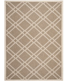 RugStudio presents Safavieh Courtyard Cy6923-242 Brown / Bone Machine Woven, Good Quality Area Rug