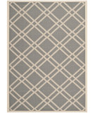 RugStudio presents Safavieh Courtyard Cy6923-246 Anthracite / Beige Machine Woven, Good Quality Area Rug
