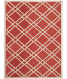 RugStudio presents Safavieh Courtyard CY6923-248 Red / Bone Flat-Woven Area Rug