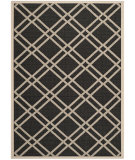 RugStudio presents Safavieh Courtyard Cy6923-266 Black / Beige Machine Woven, Good Quality Area Rug