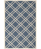 RugStudio presents Safavieh Courtyard Cy6923-268 Navy / Beige Machine Woven, Good Quality Area Rug
