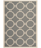 RugStudio presents Safavieh Courtyard Cy6924-246 Anthracite / Beige Machine Woven, Good Quality Area Rug