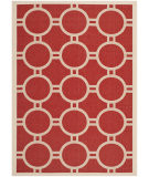 RugStudio presents Safavieh Courtyard CY6924-248 Red / Bone Flat-Woven Area Rug