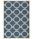 RugStudio presents Safavieh Courtyard Cy6924-268 Navy / Beige Machine Woven, Good Quality Area Rug