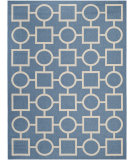 RugStudio presents Safavieh Courtyard CY6925-243 Blue / Beige Flat-Woven Area Rug