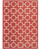 RugStudio presents Safavieh Courtyard CY6925-248 Red / Bone Flat-Woven Area Rug
