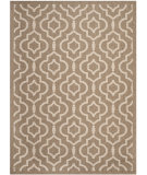 RugStudio presents Safavieh Courtyard Cy6926-242 Brown / Bone Machine Woven, Good Quality Area Rug