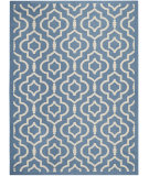 RugStudio presents Safavieh Courtyard CY6926-243 Blue / Beige Flat-Woven Area Rug