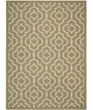 RugStudio presents Safavieh Courtyard CY6926-244 Green / Beige Flat-Woven Area Rug
