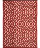 RugStudio presents Safavieh Courtyard CY6926-248 Red / Bone Flat-Woven Area Rug