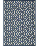RugStudio presents Safavieh Courtyard Cy6926-268 Navy / Beige Machine Woven, Good Quality Area Rug