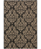 RugStudio presents Safavieh Courtyard Cy6930-26 Black / Creme Machine Woven, Good Quality Area Rug