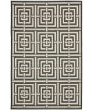 RugStudio presents Safavieh Courtyard Cy6937-26 Black / Bone Machine Woven, Good Quality Area Rug