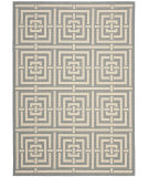 RugStudio presents Safavieh Courtyard Cy6937-65 Grey / Cream Machine Woven, Good Quality Area Rug