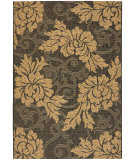RugStudio presents Safavieh Courtyard Cy6957-46 Black / Natural Machine Woven, Good Quality Area Rug