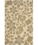 RugStudio presents Safavieh Courtyard Cy7014-14a5 Cream / Green Machine Woven, Good Quality Area Rug