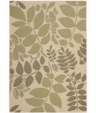 RugStudio presents Safavieh Courtyard Cy7015-14a7 Cream / Green Machine Woven, Good Quality Area Rug