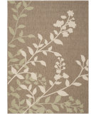RugStudio presents Safavieh Courtyard Cy7019-242 Brown / Beige Machine Woven, Good Quality Area Rug