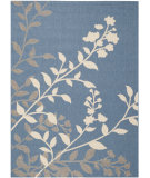 RugStudio presents Safavieh Courtyard Cy7019-243 Blue / Beige Machine Woven, Good Quality Area Rug