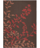 RugStudio presents Safavieh Courtyard Cy7019-303 Chocolate / Red Machine Woven, Good Quality Area Rug