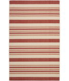 RugStudio presents Safavieh Courtyard Cy7062-238a21 Beige / Red Machine Woven, Good Quality Area Rug