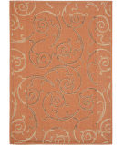 RugStudio presents Safavieh Courtyard Cy7108-21a7 Terracotta / Cream Machine Woven, Good Quality Area Rug