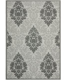 RugStudio presents Safavieh Courtyard Cy7133-78a5 Light Grey / Anthracite Machine Woven, Good Quality Area Rug