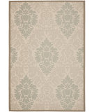 RugStudio presents Safavieh Courtyard Cy7133-79a18 Beige / Dark Beige Machine Woven, Good Quality Area Rug