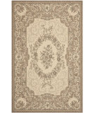 RugStudio presents Safavieh Courtyard Cy7208-12a5 Creme / Brown Machine Woven, Good Quality Area Rug