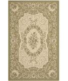 RugStudio presents Safavieh Courtyard Cy7208-14a5 Cream / Green Machine Woven, Good Quality Area Rug