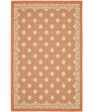 RugStudio presents Safavieh Courtyard Cy7810-21a7 Terracotta / Cream Machine Woven, Good Quality Area Rug