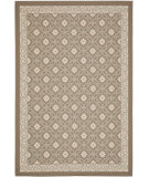 RugStudio presents Safavieh Courtyard Cy7810-97a18 Dark Beige / Beige Machine Woven, Good Quality Area Rug
