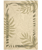 RugStudio presents Safavieh Courtyard Cy7836-14a5 Cream / Green Machine Woven, Good Quality Area Rug