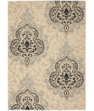 RugStudio presents Safavieh Courtyard Cy7926-16a22 Creme / Black Machine Woven, Good Quality Area Rug