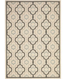 RugStudio presents Safavieh Courtyard CY7938-256A18 Beige / Black Area Rug