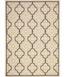 RugStudio presents Safavieh Courtyard CY7938-256A21 Beige / Black Flat-Woven Area Rug