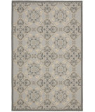 RugStudio presents Safavieh Courtyard Cy7978-78a21 Light Grey / Anthracite Machine Woven, Good Quality Area Rug